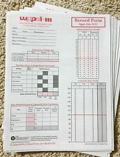 WPPSI-III Wechsler Preschool & Primary Scale Record Form Ages 2:6-3:11