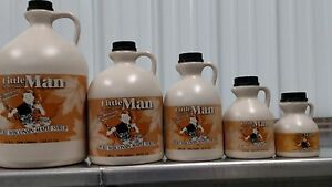 100% Pure Wisconsin Maple Syrup Grade A Amber Rich/Medium Amber