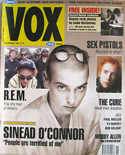 VOX 11 1992 Sinéad O'Connor Bob Geldof Sex Pistols REM PJ Harvey Cure Brian May