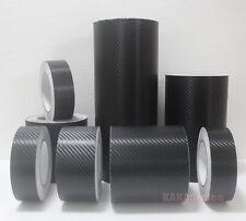 Multi-function Adhesive Black 3D Texture Carbon Fiber Vinyl Tape Wrap Sticker CF