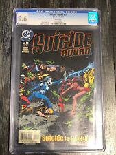 SUICIDE SQUAD #11 CGC 9.6 NM+ First Print White Pages Mark Texeira Cover (2002)