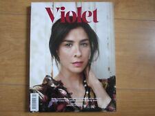 Violet Magazine No 5 Spring / Summer 2016 Sarah Sliverman Lula New.