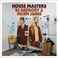 "DJ GREOGERY & JULIEN JABRE ""HOUSE MASTERS"" CD NEW"