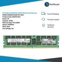 HP 32GB (1*32GB) 2RX4 PC4-19200T-L DDR4-2400MHZ LRDIMM - 805353-B21