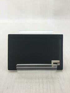 Gucci  Leather 73484 Leather Black Fashion Card case 1689 From Japan