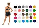 Women Cotton Spandex Exercise Gym Bike Shorts (4