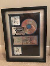 More details for rage against the machine battle of los angeles album riaa platinum award disc