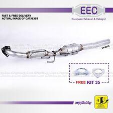 EEC CATALYST VK6003 AUDI A3 SEAT LEON TOLEDO SKODA VW 1.9 8V (TDi) FREE KIT