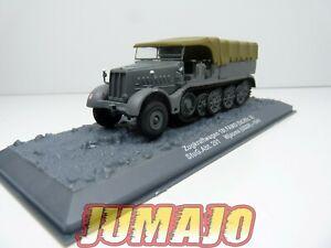 PZ26 véhicule militaire 1/72 PANZER Zugkraftwagen 18f FAMO (Sd.Kfz.9) USSR 1941