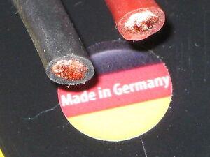 0,5-6mm² Silikonlitze Kupferkabel feinadrig Farbe + Länge wählen Muldental