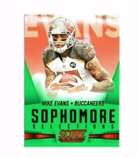 Mike Evans 2015 Panini Score, Sophmore Selections, (Green) Football Card