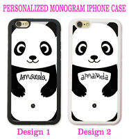 CUTE GIFT BABY PANDA PERSONALIZED PHONE Case Cover For iPhone XR XS X 8 7 6 SE 5