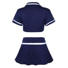 Women Police Officer Cop Uniform Halloween Fancy Dress Lingerie Cosplay Costumes