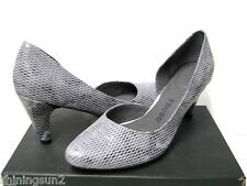 Tsubo Fifee Snake Charcoal Women Heels US9/UK7.5/EU40/JP26