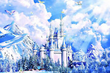 1000 Piece Adult Puzzle Magic Castle Snow Mountains Jigsaw Educational Toys Gift
