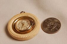 Swiss Made Samba Necklace Watch See-Through Back Case #48306