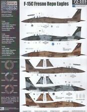 TB72103 - NEW Two Bobs Decals 1:72 McDonnell F-15C Fresno Repo Eagles Collection