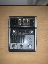 Behringer Xenyx 302Usb Audio Interface Mixer 5 Inputs
