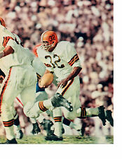 JIM BROWN CLEVELAND BROWNS 8X10  PHOTO  HOF FOOTBALL  USA