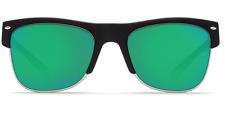 New Costa Del Mar Fishing Sunglasses PAWLEYS Black Green Mirror 580G POLARIZE