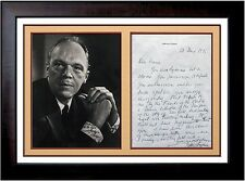 Joshua Logan HAND WRITTEN Letter Signed Photograph Pulitzer Prize Book Authentic