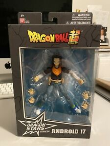 Dragon Ball Z Super Dragon Stars Series 10 Android 17 Action Figure