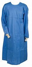 REUSABLE SURGICAL gown  blue -SIZE XXL 100% cotton  / 3452