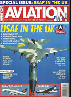 AVIATION NEWS MAGAZINE,  SPECIAL ISSUE,USAF IN THE UK      JULY, 2018