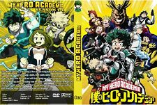 My Hero Academy Seasons 1-4  Dual Audio Japanese/English - English  Subtitles