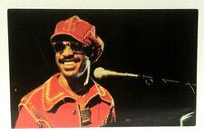Stevie Wonder 1977 Vintage Postcard