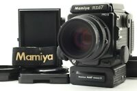 【EXCELLENT+5】 Mamiya RZ67 Pro II + Sekor Z 110mm f/2.8 W + Winder etc from JAPAN