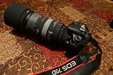 Canon EOS 70D 20.2MP Digital SLR Camera Two lenses, Speedlite, Accessories, Bag