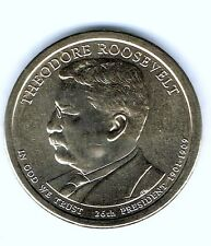 New listing 2013-D $1 Theodore Roosevelt Brilliant Uncirculated 26Th Presidential Dollar!