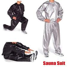 Hot Heavy Duty Sweat Sauna Exercise Gym Fitness Weight Loss Anti-Rip Suit YAAU