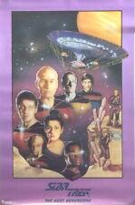 Star Trek: The Next Generation Tv 1st Season Cast Art Poster 1988 New Rolled