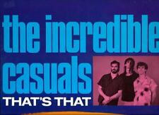 """The Incredible Casuals : That's That -  vinile 33 giri / 12"""" - 1987 - ottimo"""