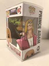 Robert Lamb Signed Funko Pop He-Man Masters Of The Universe Prince Adam Art Motu