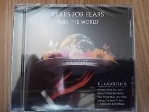 TEARS FOR FEARS RULE THE WORLD ORIGINAL UK CD BRAND NEW SEALED