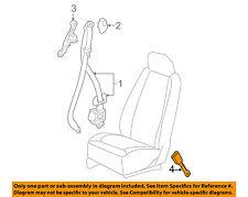 Chevrolet GM OEM 06-08 Cobalt Front Seat Belt-Buckle Right 89026271