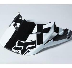 Fox Replacement Visor for MX15 V1 Race Helmet - M/L - Black