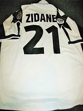 Authentic Zidane Juventus 1998 - 1999 Jersey Shirt Camiseta France Real Madrid