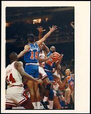 Michael Jordan 1989 NBA Playoffs Bulls vs Cavs Type 1 Original Color Photo