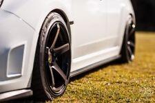 GENUINE ENKEI KOJIN 18x8.5 18x9.5 +45 wheels 5x100 DEEP DISH JDM GT86 WRX BRZ