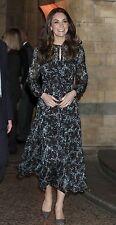 LK Bennett *NWT* Cersei Evergreen Floral Dress ASO Duchess Kate Middleton 12 / 8