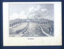Wohldenberg - Lithographie aus Görges 1843