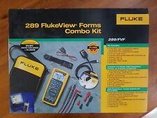 FLUKE 289FVF FlukeView Forms Combo Kit Logging Multimeter. !!2019 Model!!