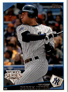 2009 Topps New York Yankees World Series Champions - Pick A Card - Cards 1-27