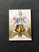 2016-17 UPPER DECK THE CUP ROBERTO LUONGO AUTO CRAZY PATCH GOLD #ed 4/8