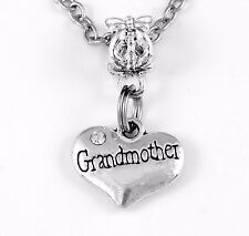 Grandmother jewelry Grandmother gift Grand mother Charm only mothers day
