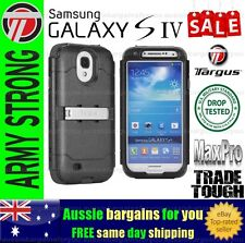 Samsung Galaxy S4 Case Cover Targus Max Pro Heavy Duty Trade Tough Strong Black